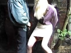 Super-naughty dogging wife piss and sperm slut