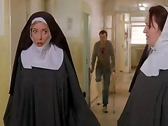 Nuns roped up and disrobed by cops!