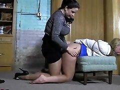 waitress restrain bondage