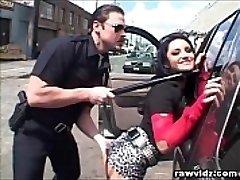 Super-hot Thief Caught By Pervert Cop