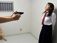 Yui Saejima in Bare honeys are playing rough games in the prison - AviDolz