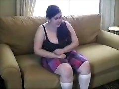 Obese Young Slut Punished With Brutish Spanking