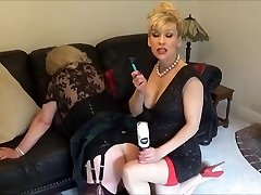 Madame C shaves bitch Angelica's booty
