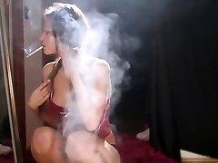Smoking brown-haired - 7