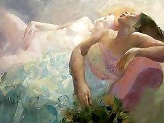 Voluptuous Erotic Paintings of Emilia Castaneda