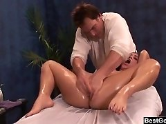 BestGonzo Glamour Oil Massage lead to roughsex