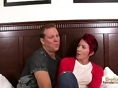 Silly cougar slut is good only at pleasing dicks