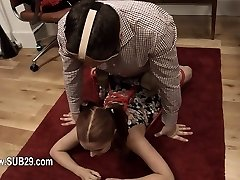fashionable whore violently ana fucked and torn up BDSM sub