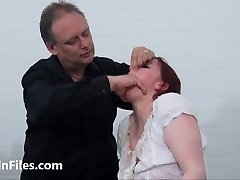 Weird slapping and messy humiliation of enslaved Isabel De