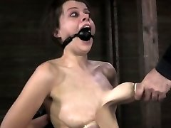 Nipple sucked biotch getting caned