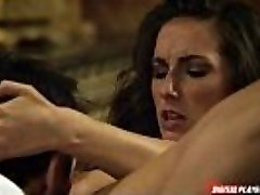 Mind-blowing big booty Brit entices her date for a rough fuck session