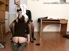 RuthlessMistress.com - Office employee was seduced to be a sub