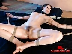 BDSM Whipped Spanked Anal Toy Teen