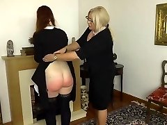 Apologetic maid gets penalized pt.2