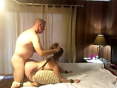 Red-hot submissive MILF getting pounded and spanked