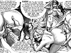 Masterwork of Bondage Sex Orgy Comic