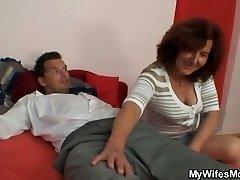 She fucks her daughter-in-law's boyfriend