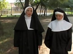 European free hard-core movie with kinky nuns who love prick