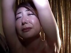Whipping a Japanese Cougar-Bottom & Breast