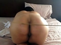Arab Woman Caning Booty Fuck Awesome