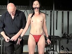 Restrained milf Lolanis unexperienced bdsm and tied tit torments o