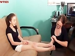 Mother And Teen Foot Worship