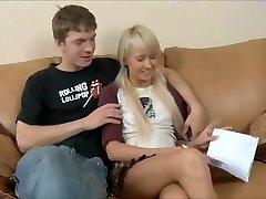 Blonde Teenager gets harsh doggystyle! - more on DigitalTeenPorn .com