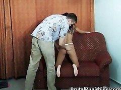 Rock Hard-core restrain bondage and brutal punishement part1