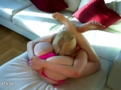 Zlata's Incredible Extreme Bikini Contortion