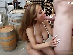 Glamour cowgirl tough sex