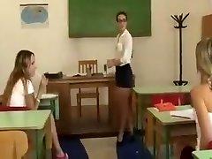 Lesbian teacher punishes students