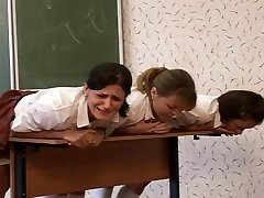 3 russian students caned