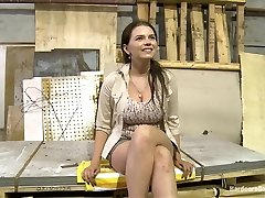 Big Titted 18 Year Old Russian Slut gets Gang-fucked for the first time