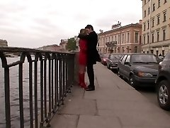 Russian teen takes it ass fucking