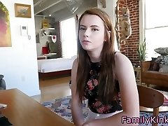 Real stepsister fucked rigid after school
