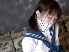 lovely japanese schoolgirl escape bondage 1
