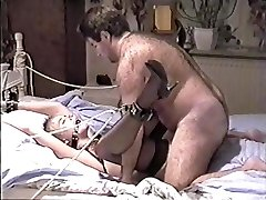 Vintage Amateur Bondage (wonderful woman and hairy fuck)