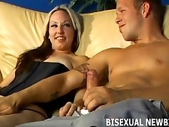 Get ready for you first bicurious 3some