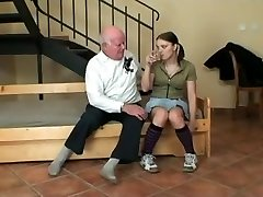 youthfull teens first sex with a old man