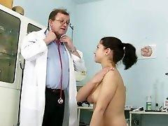 Gyno patient Monika twat speculum gyno hospital examination