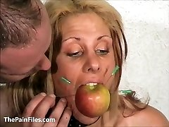Marionette Crystel Lei pussy punishment in gyno bdsm and bizarre