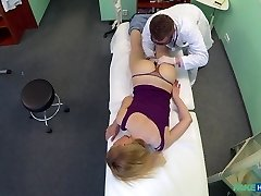 Gina in Doctors trusty meatpipe ignores the language barrier and makes super-sexy russian scream with enjoyment - FakeHospital