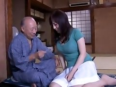 Crazy Japanese super-bitch Azusa Nagasawa in Incredible Lingerie, Finger-banging JAV movie