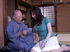 Crazy Japanese whore Azusa Nagasawa in Incredible Lingerie, Fingering JAV vid
