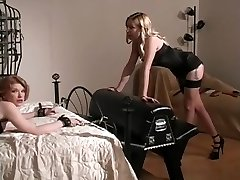 Best pornstars Anna Mills, Domme Erzsebet and Madison Young in hottest fetish, blonde pornography flick