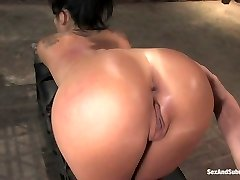 Mr. Pete Asa Akira in Asa Akira: First-ever Time Screwed in Bondage - SexAndSubmission