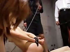 Young asian slaves pleasuring masters