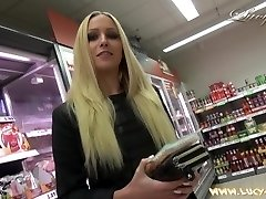 Lucy Cat Boning In Supermarket - Sex Im Supermarkt - Public