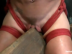 Rock Hard Bodied Slut, Felony, is Torn Apart During a Long Day of Brutal Torture