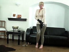 Latex female dom bdsm torture